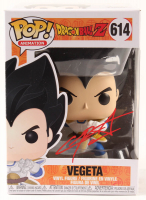 "Christopher Sabat Signed ""Dragon Ball Z"" #614 Vegeta Funko Pop! Vinyl Figure (Beckett COA) at PristineAuction.com"