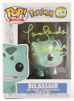 "Tara Sands Signed ""Pokemon"" #453 Bulbasaur Funko Pop! Vinyl Figure Inscribed ""Bulbasaur"" (JSA COA) at PristineAuction.com"