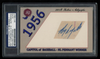 Roy Campanella 2018 Historic Autographs Capitol of Baseball Series 1 (PSA Authentic) at PristineAuction.com