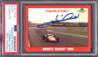 Mario Andretti Signed 1992 Legends of Indy #69 Mario Andretti's Car (PSA Encapsulated) at PristineAuction.com