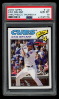 Kris Bryant 2018 Topps Throwback Thursday #100 (PSA 10) at PristineAuction.com