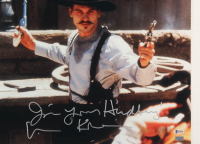 """Val Kilmer Signed """"Tombstone"""" 16x20 Photo Inscribed """"I'm Your Huckleberry!"""" (Beckett COA) (See Description) at PristineAuction.com"""