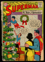 1964 Superman Issue #166 DC Comic Book at PristineAuction.com