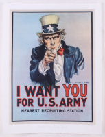 "Historical Photo Archive - ""Uncle Sam Wants You"" Limited Edition 16.5x22 Fine Art Giclee on Paper #17/375 (PA LOA) at PristineAuction.com"