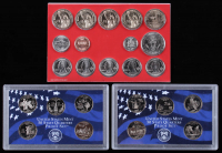 Lot of (3) United States Coin Sets with 2000 State Quarters, 2004 State Quarters & 2007-D Set at PristineAuction.com