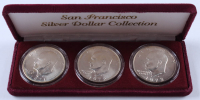 1971, 1972 & 1973 San Francisco Eisenhower Silver Dollar Collection at PristineAuction.com