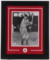 "Stan Musial Signed Cardinals 16x23 Custom Framed Photo Inscribed ""HOF 69"" (JSA COA) at PristineAuction.com"