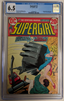 "1972 ""Supergirl"" Issue #1 DC Comic Book (CGC 6.5 at PristineAuction.com"