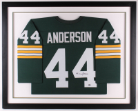 Donny Anderson Signed 33x41 Custom Framed Jersey (JSA Hologram & SportsMemorabilia COA) at PristineAuction.com