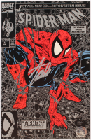 """Stan Lee Signed 1990 """"Spider-Man"""" Issue #1 Marvel Comic Book (Lee COA) at PristineAuction.com"""