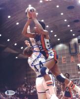 Julius Erving Signed 76ers 8x10 Photo (Beckett COA) at PristineAuction.com