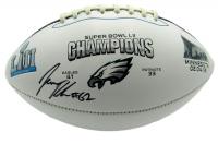 Jason Kelce Signed Eagles Super Bowl LII Logo Football (JSA COA) at PristineAuction.com