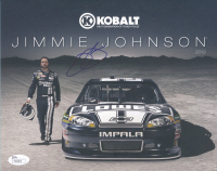 Jimmie Johnson Signed NASCAR 8x10 Photo (JSA COA) at PristineAuction.com