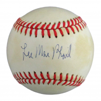 Lee MacPhail Signed OAL Baseball (JSA COA) at PristineAuction.com