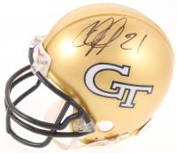Calvin Johnson Signed Georgia Tech Yellow Jackets Mini Helmet (PSA COA) at PristineAuction.com