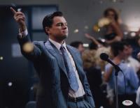 "Leonardo DiCaprio Signed ""The Wolf of Wall Street"" 11x14 Photo (PSA COA) at PristineAuction.com"