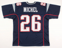 Sony Michel Signed Jersey (Beckett COA) at PristineAuction.com