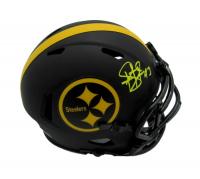 Troy Polamalu Signed Steelers Eclipse Alternate Speed Mini Helmet (JSA COA) at PristineAuction.com