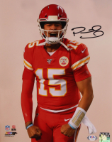 Patrick Mahomes Signed Chiefs 11x14 Photo (PSA LOA) at PristineAuction.com