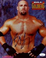"Bill Goldberg Signed WWE 8x10 Photo Inscribed ""Who's Next!"" (JSA COA) at PristineAuction.com"