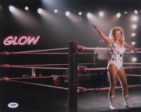 "Betty Gilpin Signed ""GLOW"" 11x14 Photo (PSA Hologram) at PristineAuction.com"