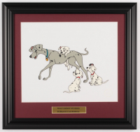 "Walt Disney ""101 Dalmations"" 16x19 Custom Framed Serigraph Cel at PristineAuction.com"
