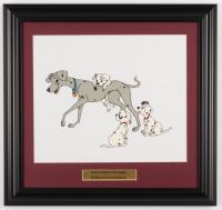 "Walt Disney ""101 Dalmations"" 16x19 Custom Framed Serigraph Cel at PristineAuction.com"