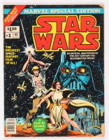 """1977 """"Star Wars"""" Issue #1 Marvel Special Edition Jumbo Whitman Comic Book at PristineAuction.com"""