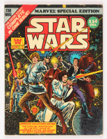 """1977 """"Star Wars"""" Issue #3 Marvel Special Edition Jumbo Whitman Comic Book at PristineAuction.com"""
