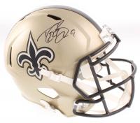 Drew Brees Signed Saints Full-Size Speed Helmet (Beckett COA & Brees Hologram) at PristineAuction.com