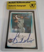 Brandon Nimmo Signed 2011 Bowman Draft Prospects #BDPP63 Baseball Card (Beckett Encapsulated) at PristineAuction.com