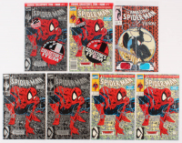 Lot of (7) Spider-Man Issue #1 Marvel Comic Books at PristineAuction.com