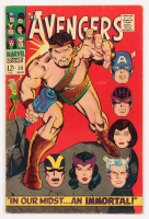 1967 The Avengers Issue #38 Marvel Comic Book at PristineAuction.com