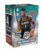 2019-20 Panini Mosaic Basketball Blaster Box with (8) Packs at PristineAuction.com