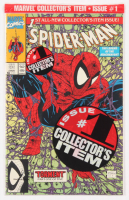 Spider-Man Issue #1 Green Edition Marvel Comic Books (Bagged) at PristineAuction.com
