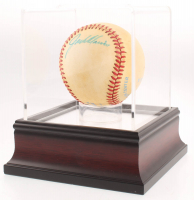 Jack Morris Signed OAL Baseball With High Quality Display Case (PSA COA) at PristineAuction.com