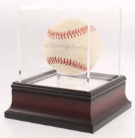 Hal Newhouser Signed OAL Baseball With High Quality Display Case (PSA COA) at PristineAuction.com