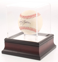 Early Wynn Signed OAL Baseball With High Quality Display Case (PSA COA) at PristineAuction.com