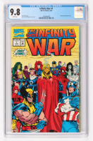 1992 Infinity War Issue #1 Marvel Comic Book (CGC 9.8) at PristineAuction.com