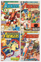 Lot of (4) 1980 The Avengers Marvel Comic Books with #194, #195, #197 & #198 at PristineAuction.com