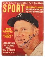 Whitey Ford Signed Yankees 1963 Sport Magazine (JSA COA) at PristineAuction.com