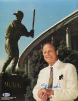 Stan Musial Signed Cardinals 11x14 Photo (Beckett COA) at PristineAuction.com