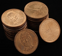 Lot of (25) $1 Coins at PristineAuction.com