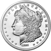 1 Troy Oz .999 Silver Round - Morgan Dollar Design (Uncirculated) at PristineAuction.com