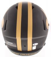 Drew Brees Signed Saints Eclipse Alternate Full-Size Speed Helmet (Beckett COA & Brees Hologram) at PristineAuction.com