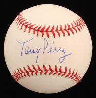 Tony Perez Signed ONL Baseball (PSA COA) at PristineAuction.com