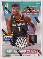 19-20 Panini Mosaic Basketball Blaster Box of (32) Cards at PristineAuction.com