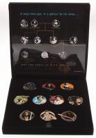 Set of (10) Star Wars Japanese Pin Badges at PristineAuction.com