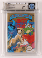 """1989 """"King's Knight"""" Nintendo Video Game (WATA 7.5) at PristineAuction.com"""