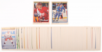Lot of (132) 1990-91 OPC Premier Hockey Cards with #114 Mats Sundin RC, #30 Sergei Fedorov RC at PristineAuction.com